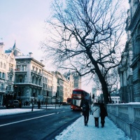 New Digs: Snow Place Like London